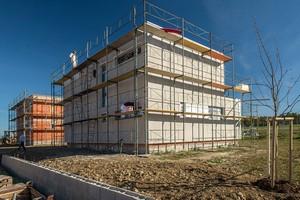 Vily Velešín - budování nových domů