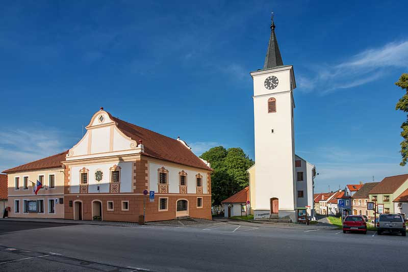 Vily Velešín - Lokalita